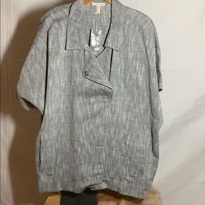 BRAND NEW: Eileen Fisher Class Boxy Jacket- XL